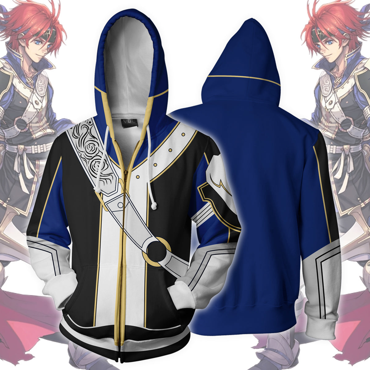 Fire Emblem - Roy Zip Up Hoodie