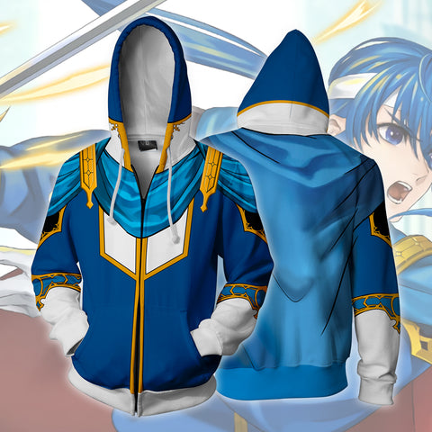 Image of Fire Emblem Seliph Zip Up Hoodie