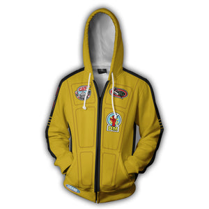 Kill Bill Zip Up Hoodie