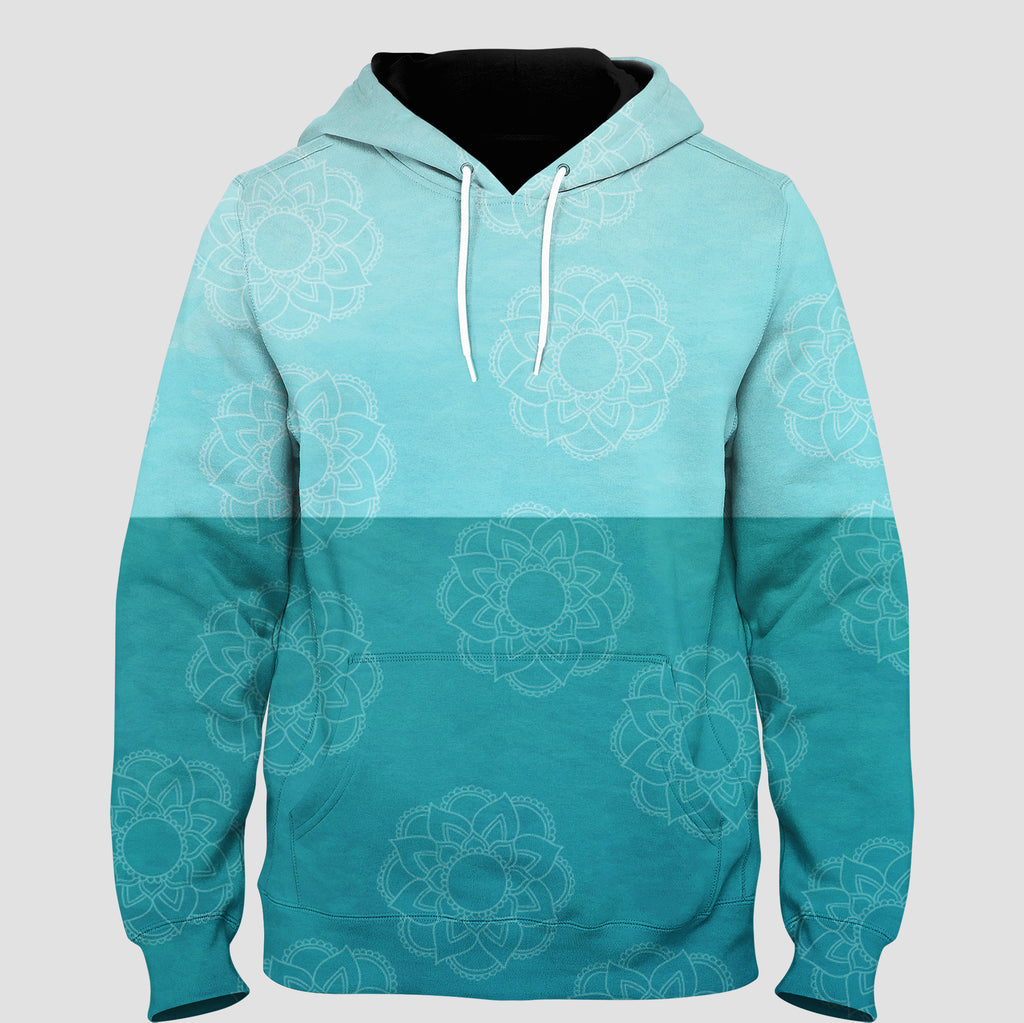 LOTUS - TWO SHADES OF GREEN  Pull Over Hoodie