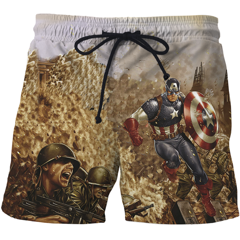 Avengers Summer Men Shorts