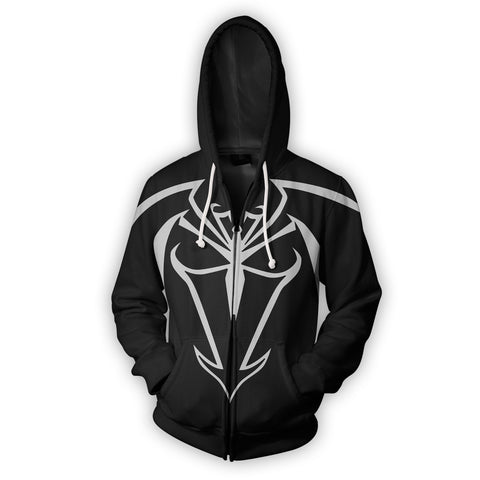 Image of Unlimited Symbiote Spider-Man Zip Up Hoodie