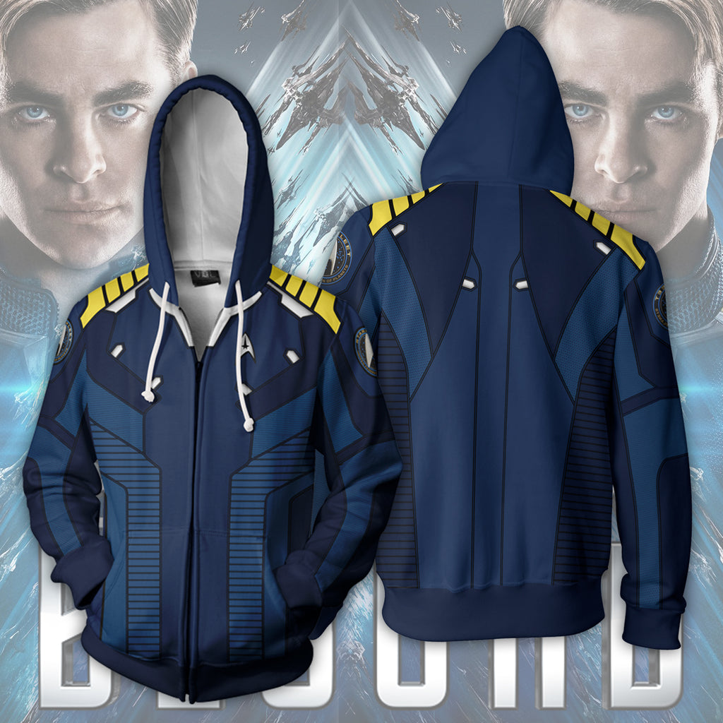 Star Trek: Beyond Zip Up Hoodie
