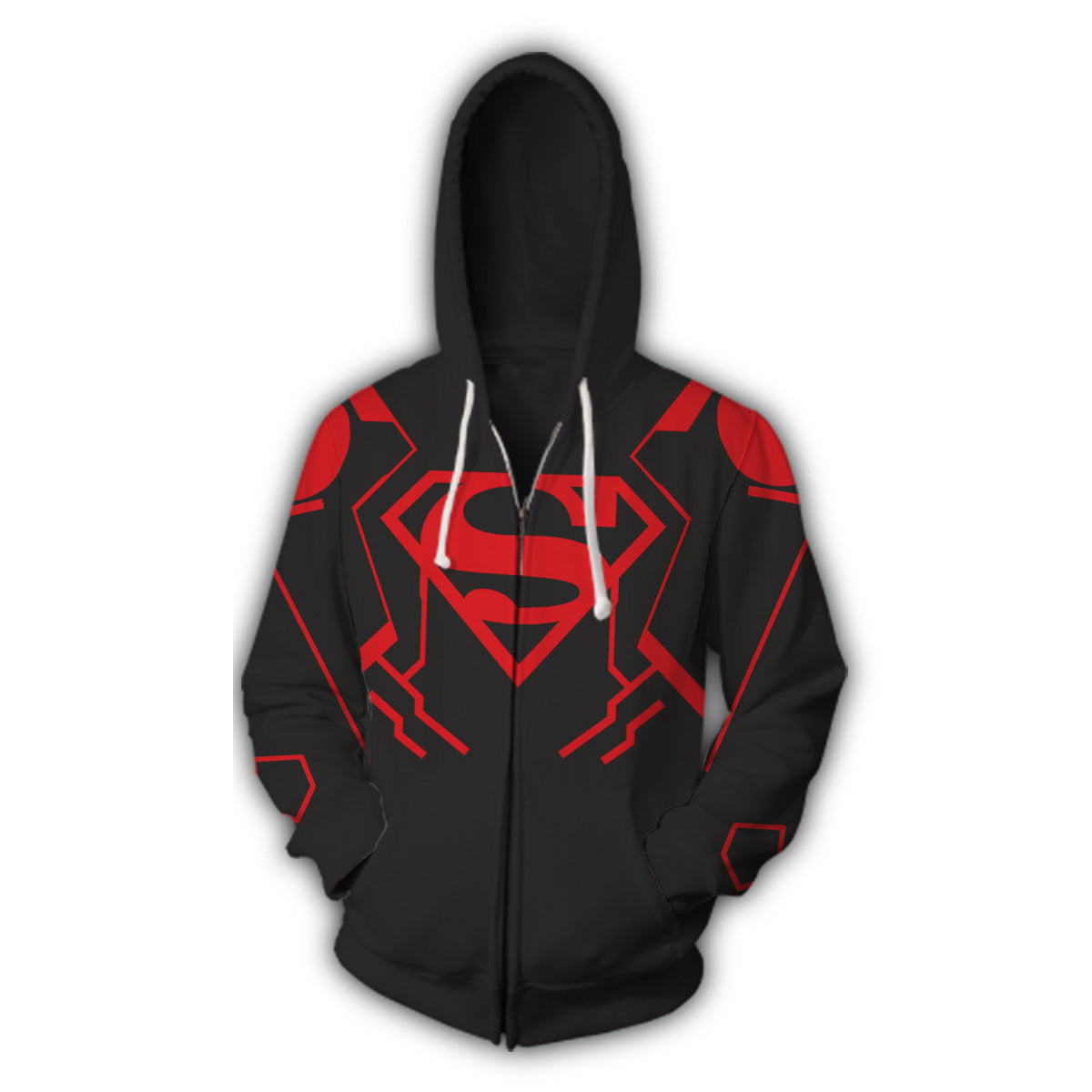 Superboy Zip Up Hoodie