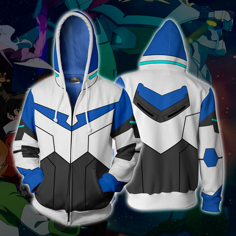 Image of Lance Voltron Zip Up Hoodie