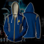 Star Trek Discovery Zip Up Hoodie
