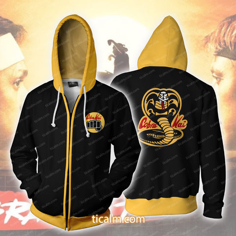 The Karate Kid Cobra Kai Zip Up Hoodie
