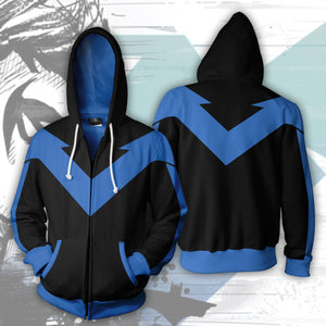 Nightwing Zip Up Hoodie 2