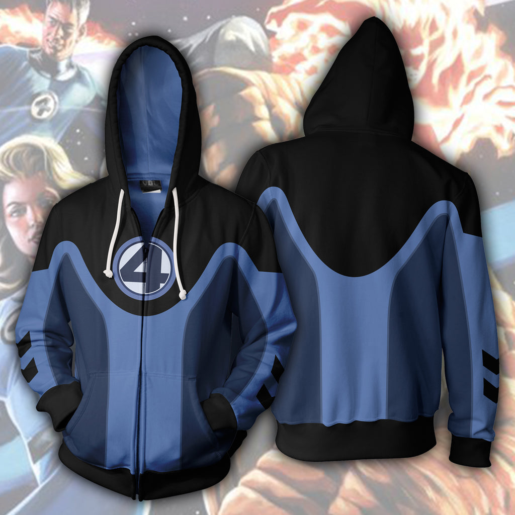 Ultimate Fantastic Four Zip Up Hoodie