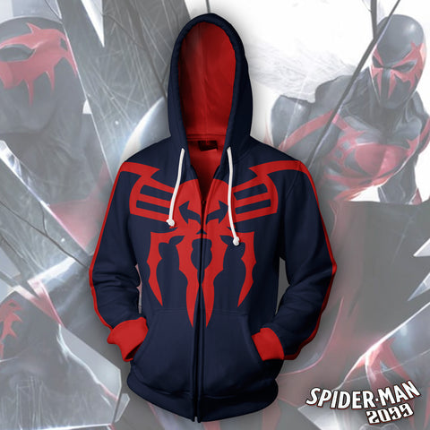 Image of Spider-Man 2099 Zip Up Hoodie