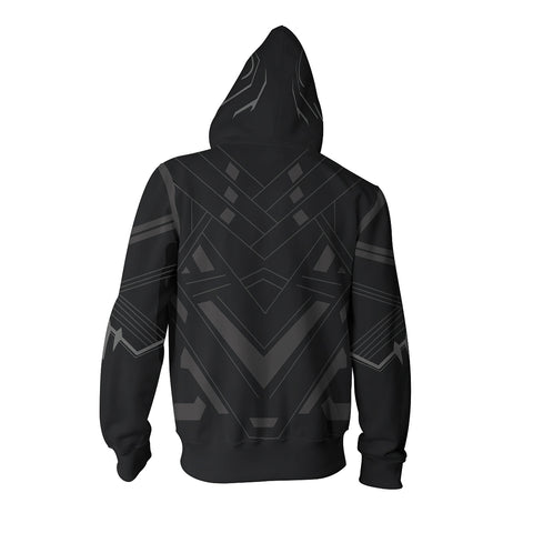 Image of Black Panther Zip Up Hoodie