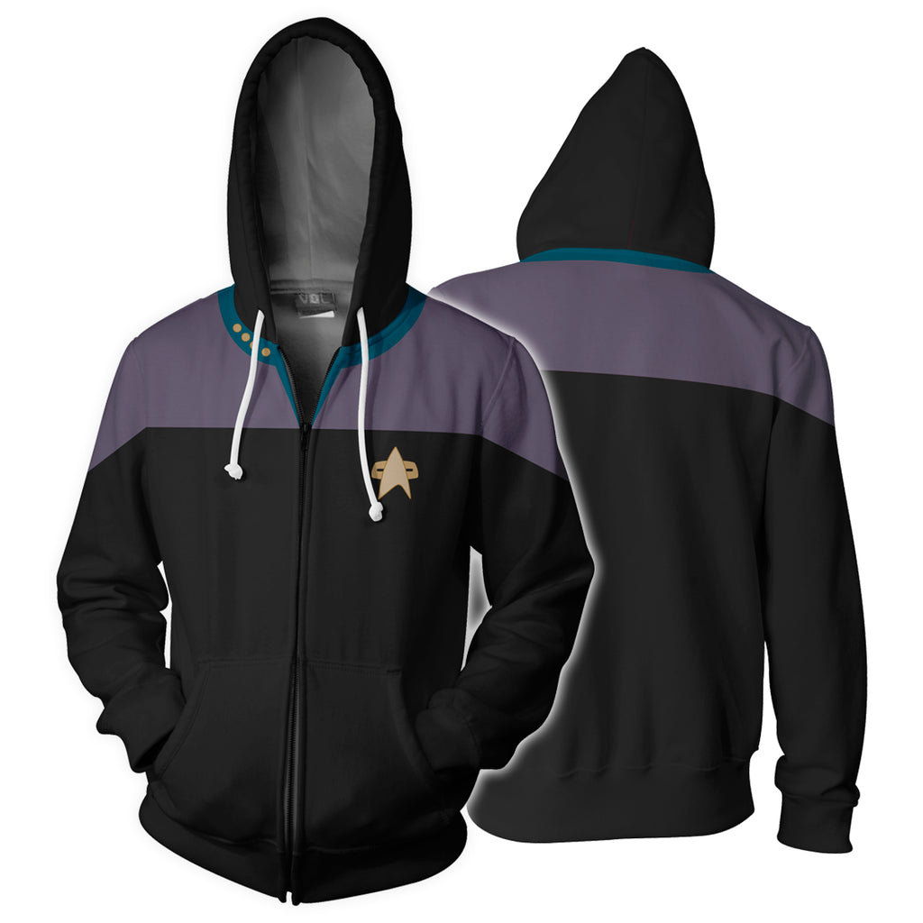Star Trek: Deep Space Nine Zip Up Hoodie