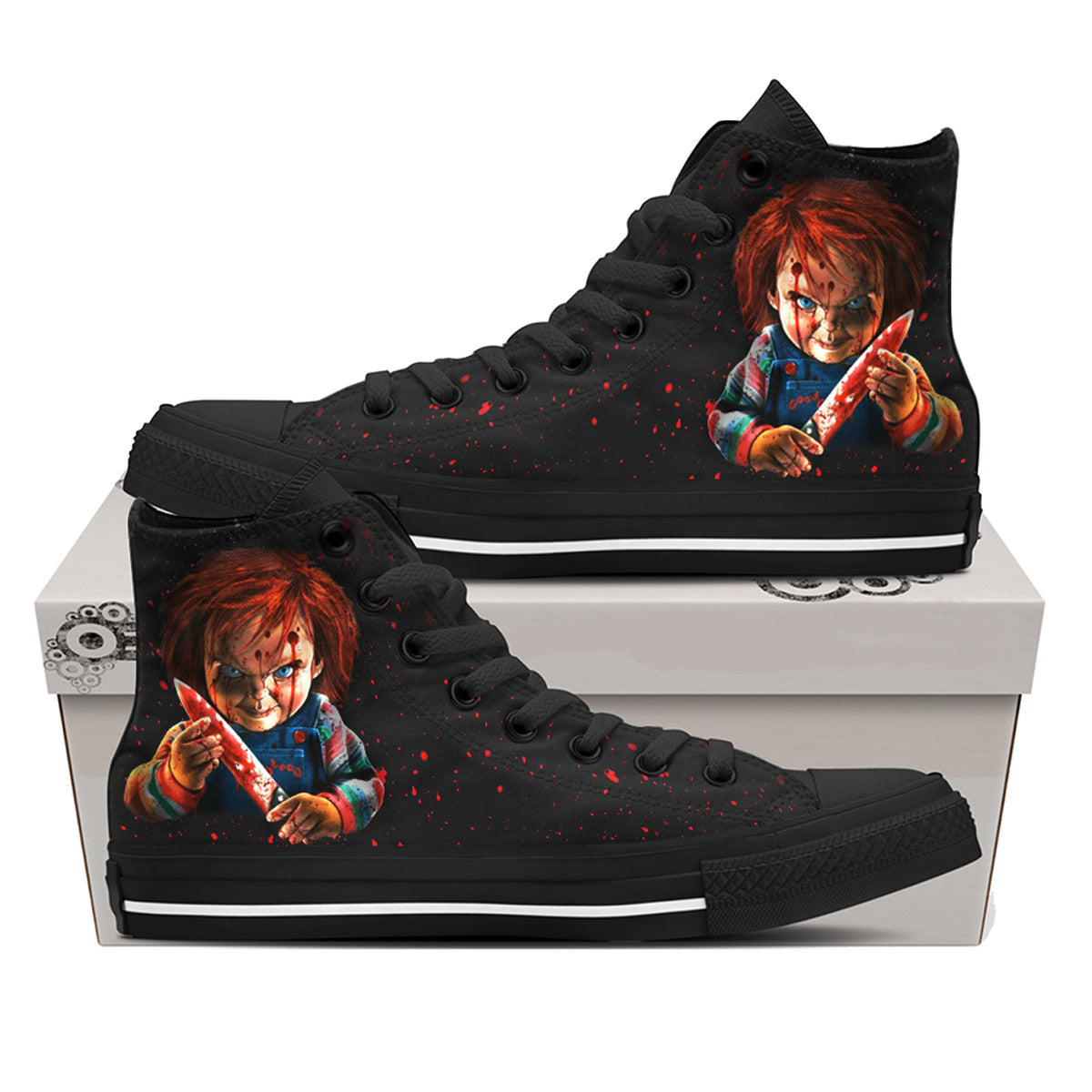 Chucky Bloody Shoes