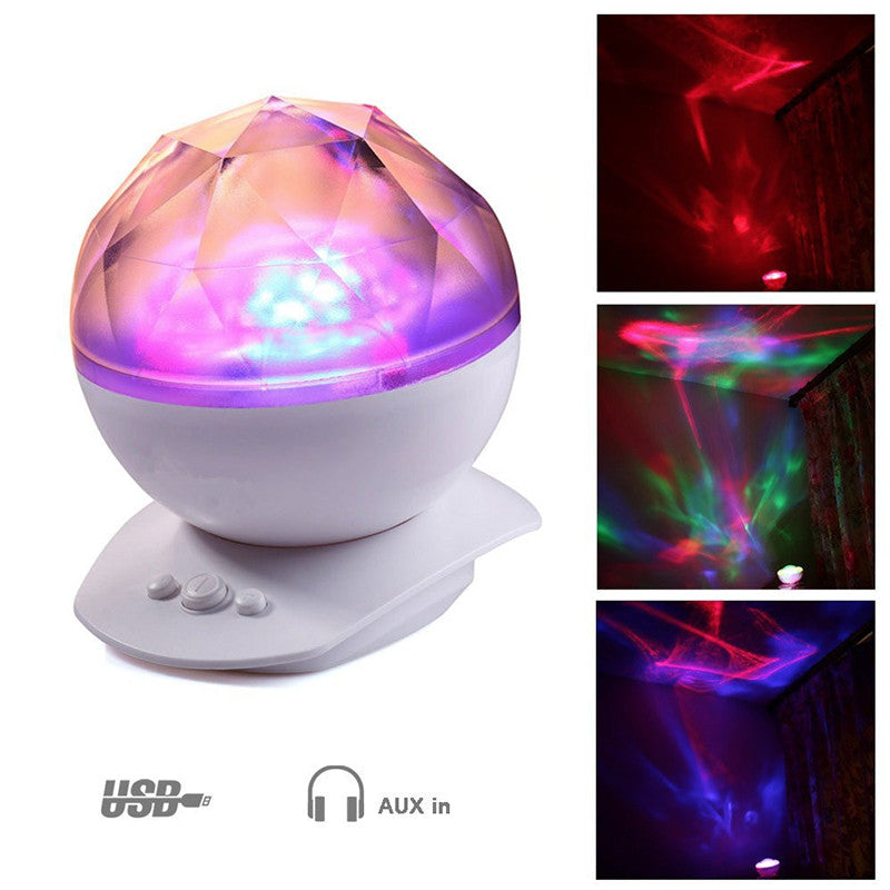 Color Changing Projection LED Night Light