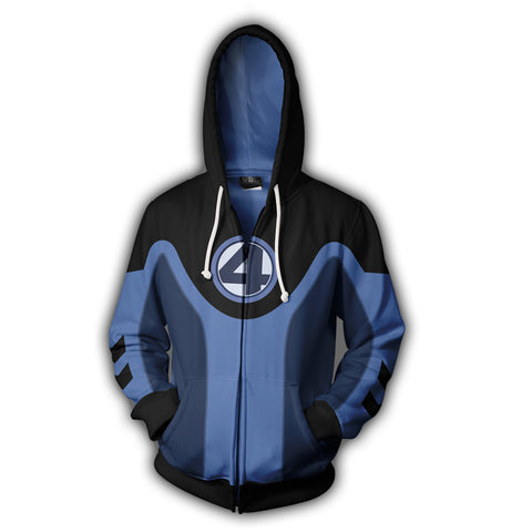 Image of Ultimate Fantastic Four Zip Up Hoodie