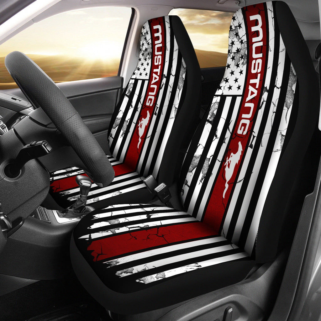 Ford Mustang Car Seat Cover V3 Tap To Expand