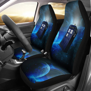 Doctor Who Tardis Car Seat Cover