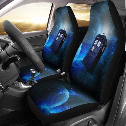 Image of Doctor Who Tardis Car Seat Cover