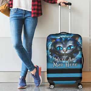 Cheshire Cat Luggage Cover