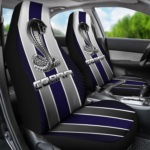 Image Of Ford Mustang Car Seat Cover V2
