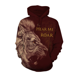 Game of Thrones Lannister Hear Me Roar Hoodie