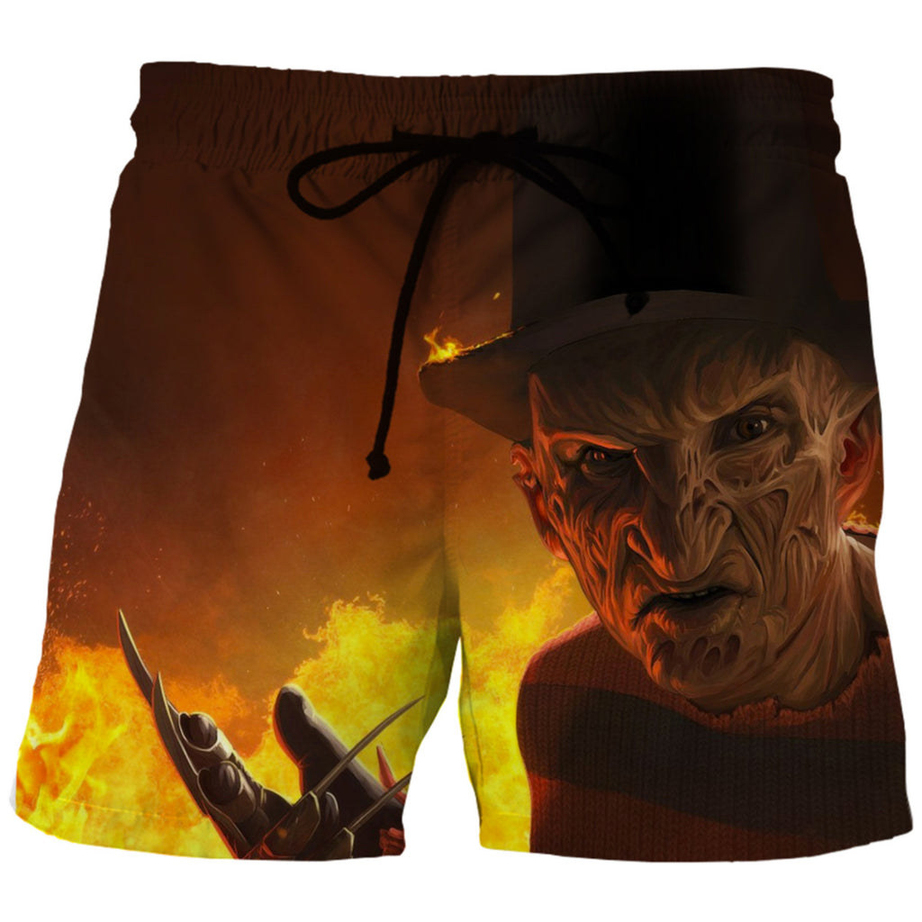 Freddy And Jason Shorts