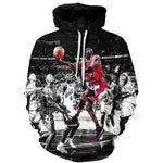 Jordan All Over Print 3D Hoodie