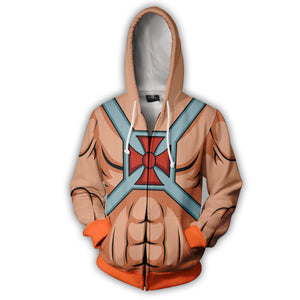 Master of the Universe Zip Up Hoodie