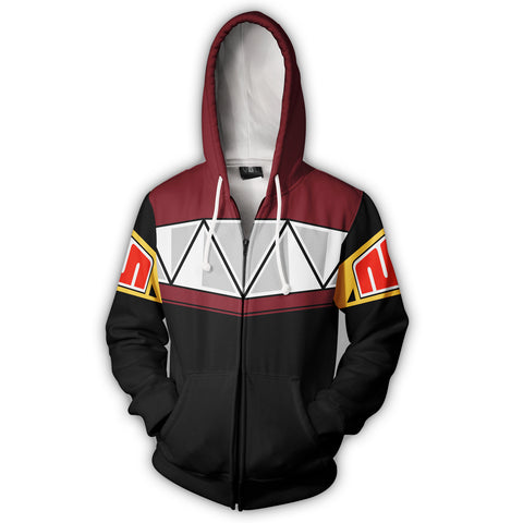 Image of Megazord :Mighty Morphin Power Rangers Zip Up Hoodie