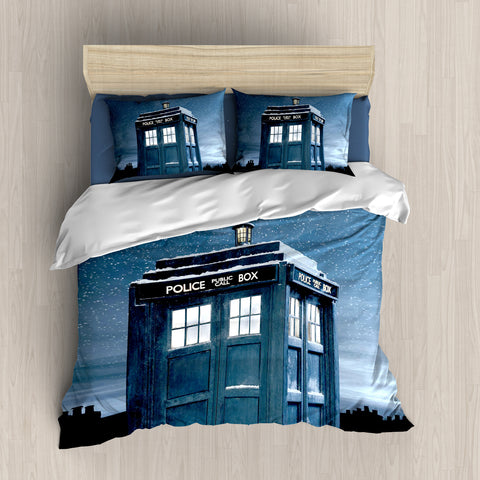 Image of Doctor Who Tardis Bedding Set