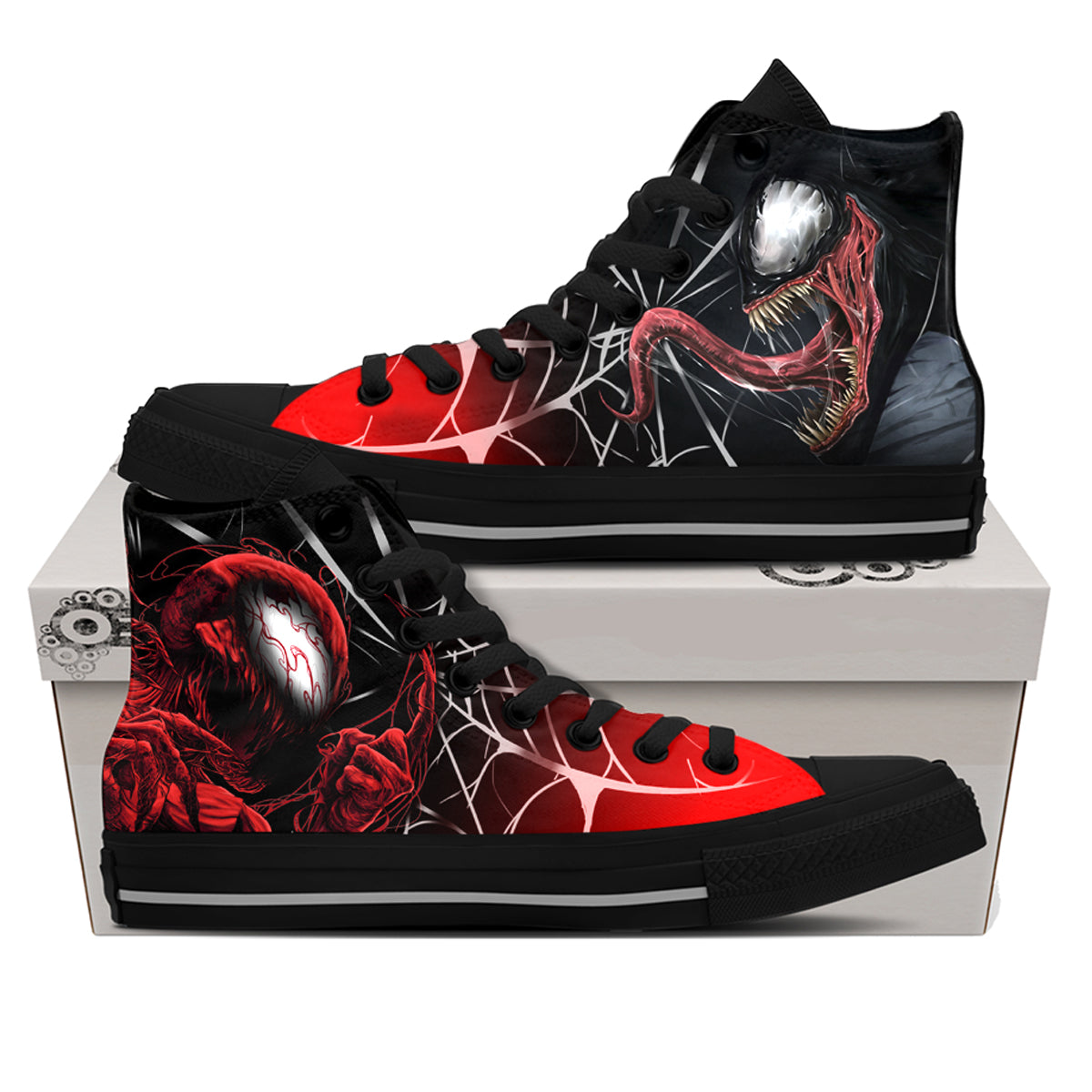 Venom vs. Carnage Shoes