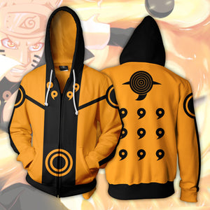 Naruto 6 Paths Zip Up Hoodie
