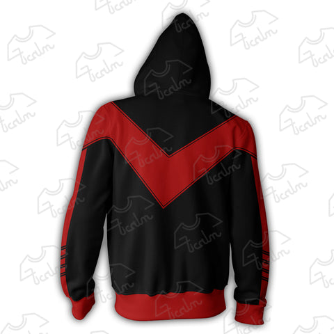 Image of Nightwing 52 Zip Up Hoodie