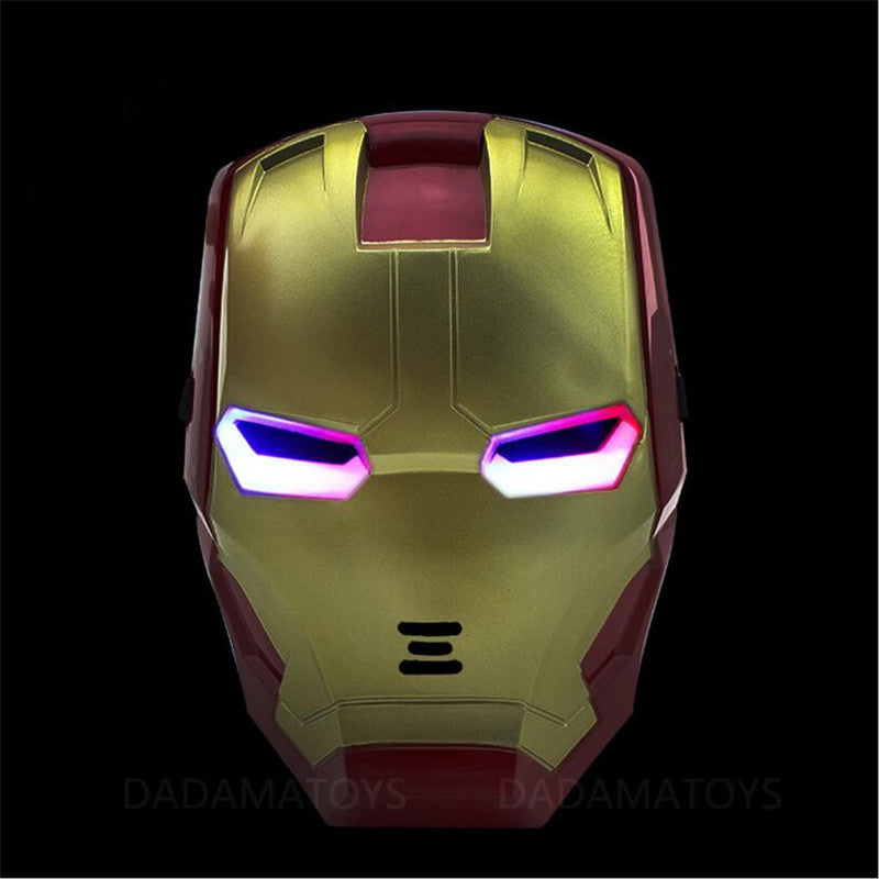 Iron man Mask Tony Stark Mark Cosplay with LED Light