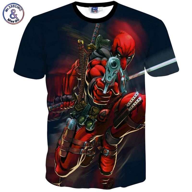 Deadpool 3D T-Shirt