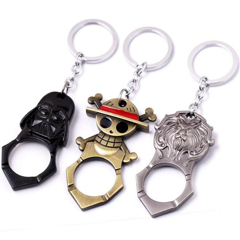 Star war Darth Vador Storm Trooper beer opener keychain