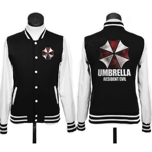 Resident Evil umbrella logo coat  baseball jacket hoodie