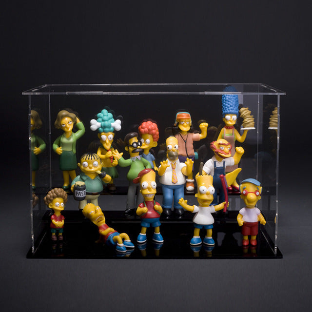 1set 5-12cm 14pcs/set The simpsons New The simpsons Collection figure toys