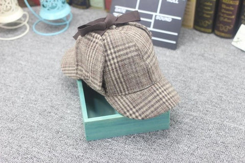 Image of Cosplay Cap Detective Sherlock Holmes