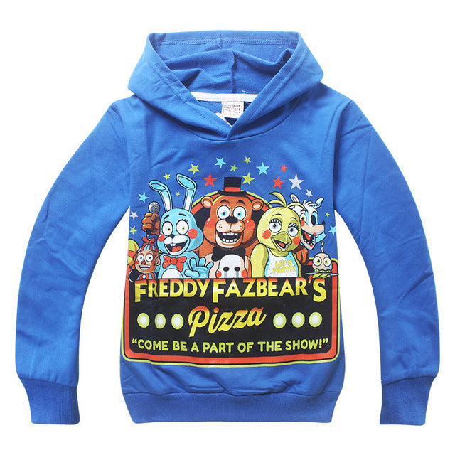 Boys Five Nights At Freddy Spring Hoodie