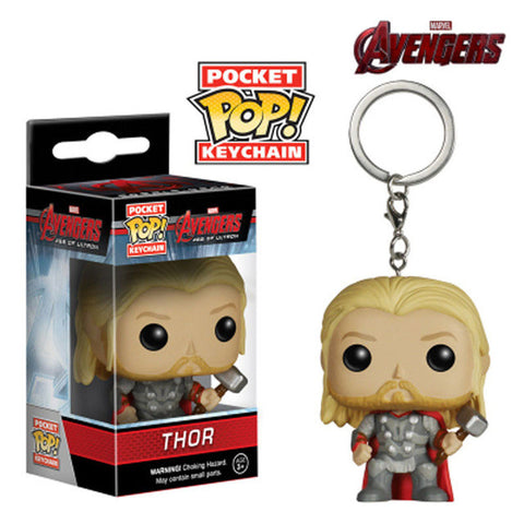 Image of Marvel Super Hero Keychain