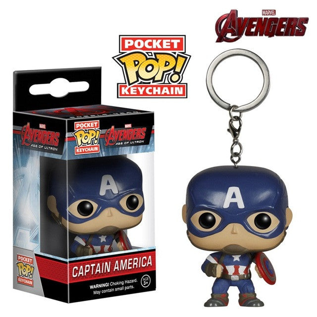 Marvel Super Hero Keychain