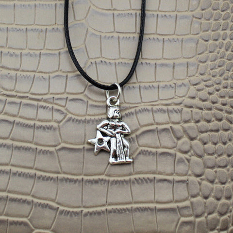 Image of 12 Zodiac Signs Necklace _ Jewelry Vintage Silver
