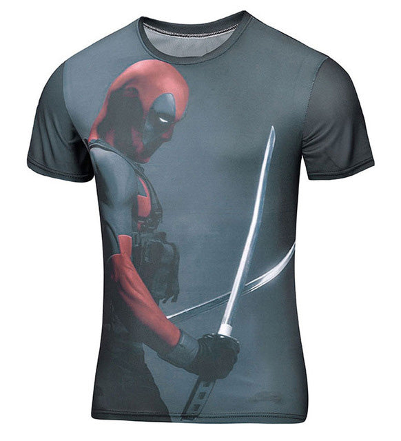 Deadpool Men/Women 3D Printing Shirt