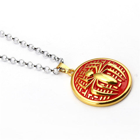 Image of Spider-man Round Necklace