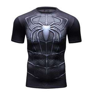 Compression Shirt Batman VS Superman 3D Printed T-shirts