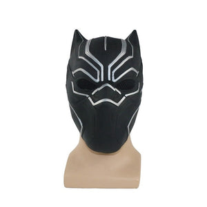 Black Panther Masks T-shirt Long