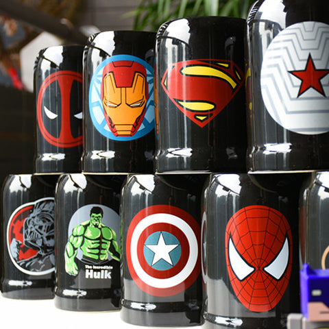 Image of Super Hero Ceranic Mugs Cup