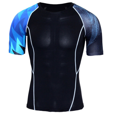 Image of Skull Punisher Compression 3D T Shirt