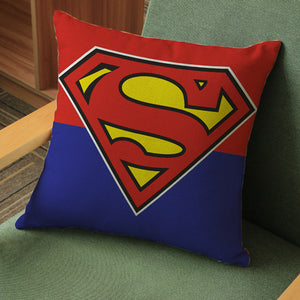 Batman Superman  Throw Pillows